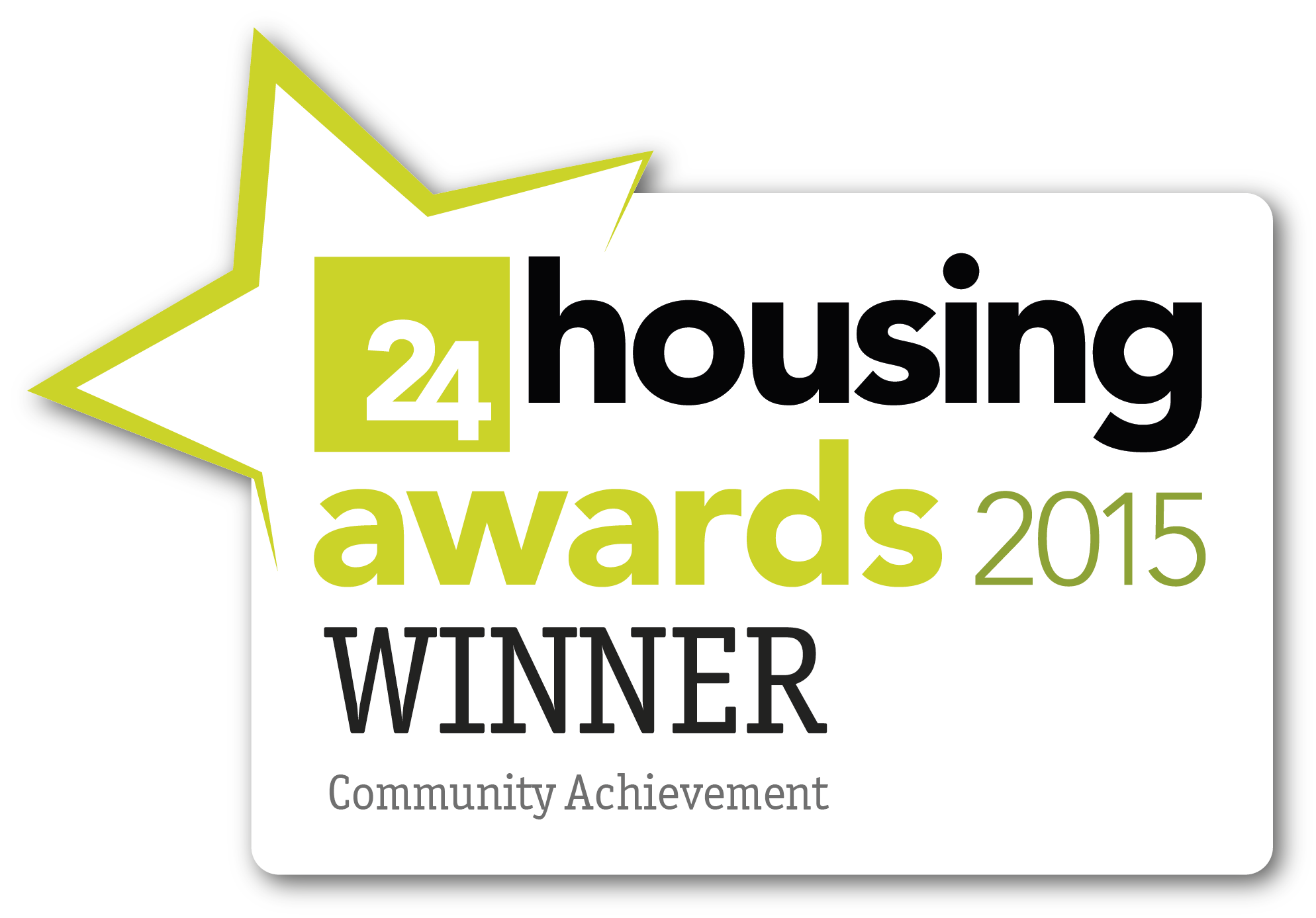 Phoenix Community Housing 24housing Awards 2015 winners