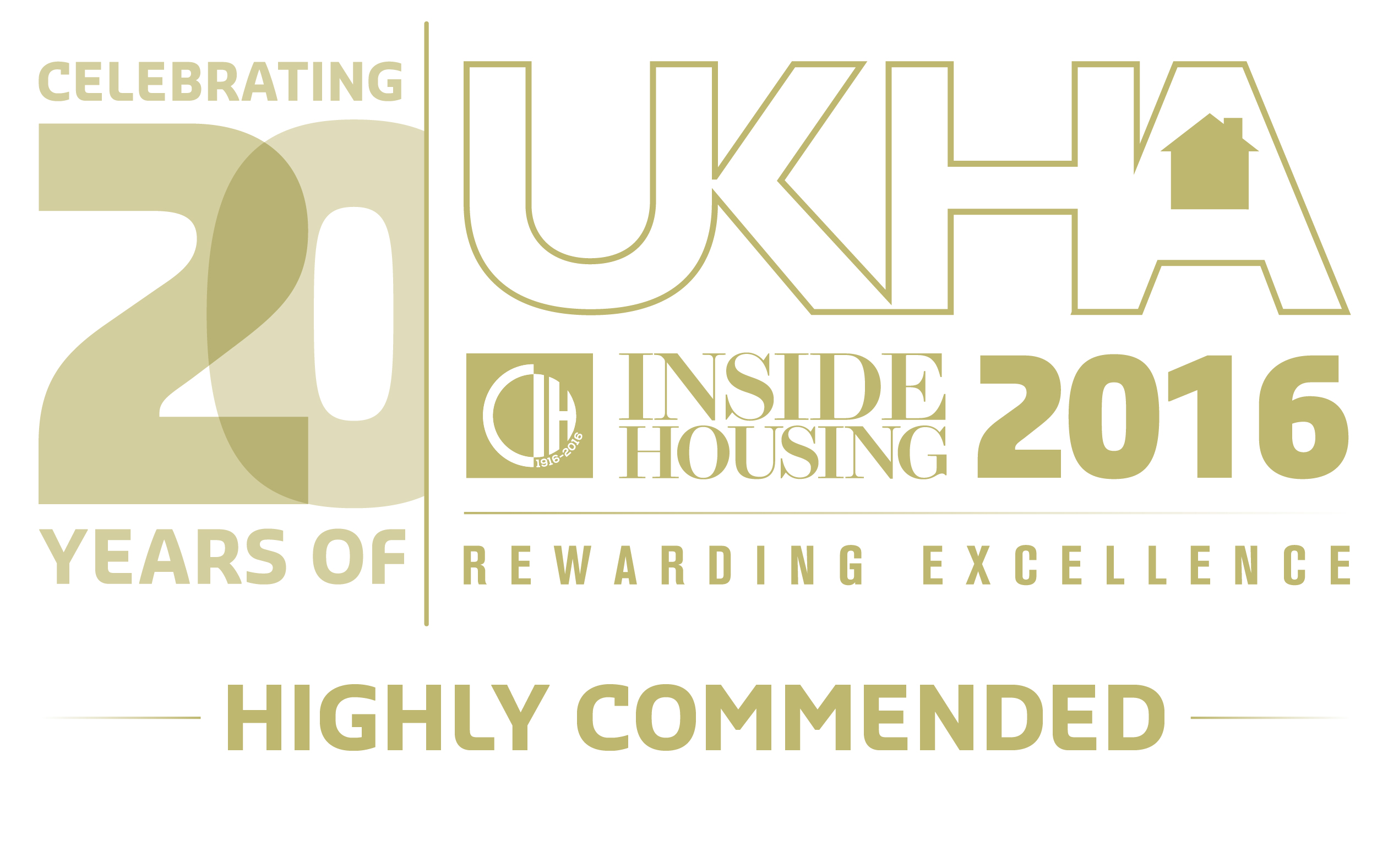 Phoenix Community Housing UK Housing Awards Highly Recommended