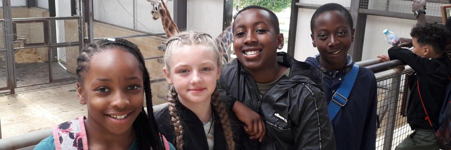 Photo of young carers from Lewisham on a holiday club supported by Phoenix Community Housing