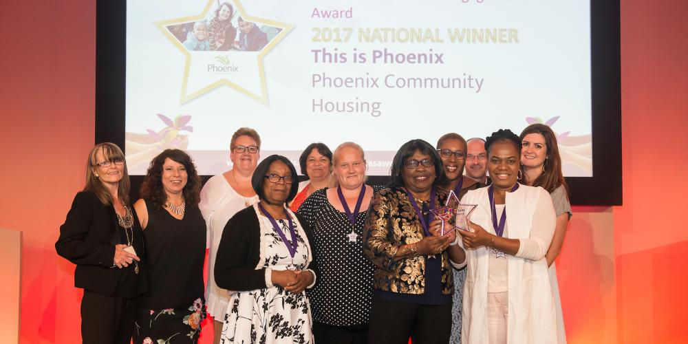 Phoenix winning at Tpas Awards 2017