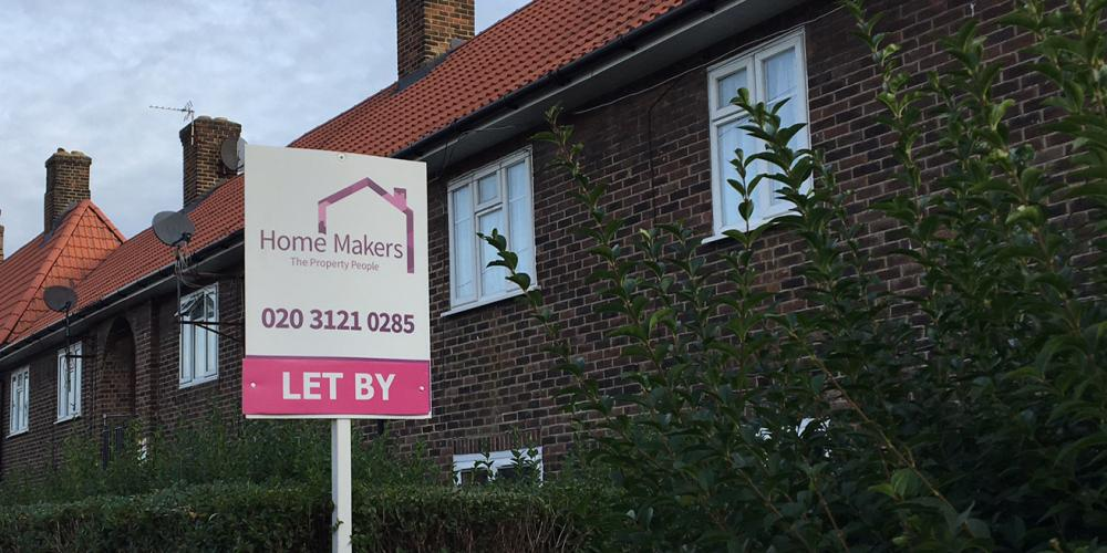 Home Makers sign