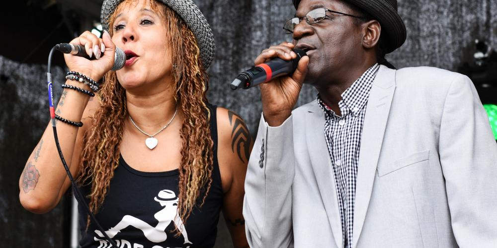 Neville Staple Band live on stage