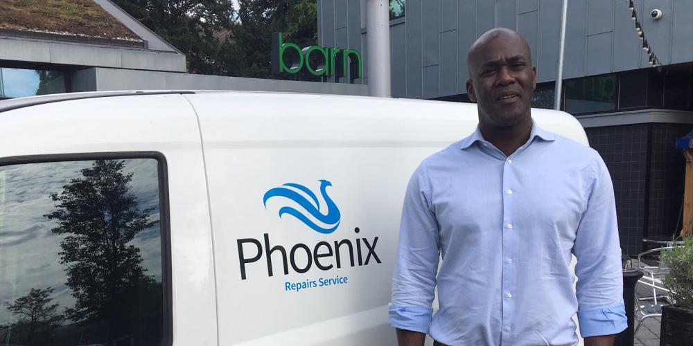 Sebastian Taylor, Managing Director, Phoenix Repairs Service
