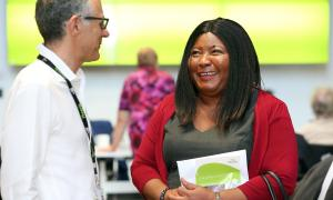 Resident Board Member Peace Ayiku-Nartey pictured at our AGM 2019