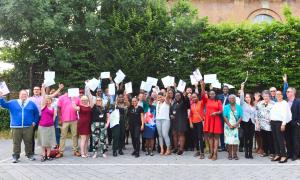 2018 Graduates celebrate