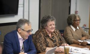 Jim Ripley, Anne McGurk and Carmen Simpson