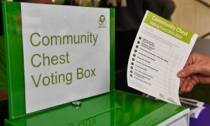 Picture of Community Chest voting box